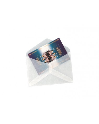 Bustine in pergamin formato cm 11,5x7,5