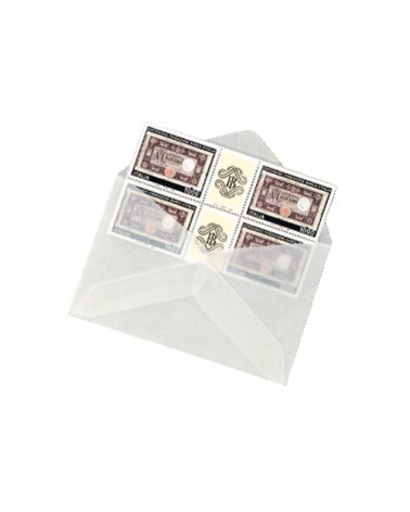 Bustine in pergamin formato cm 12x9,5