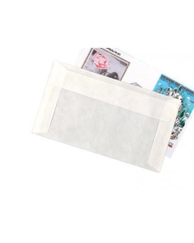 Bustine in pergamin formato cm 17.5x11