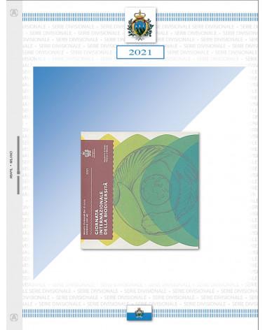 SAN MARINO-Divisionale series 2021, biodiversity