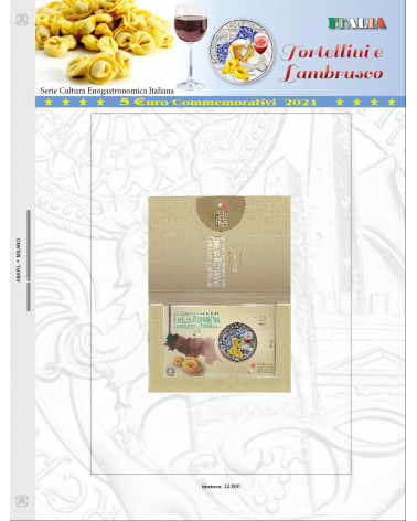 Page 5€ Italy 2021 Tortellini e Lambrusco