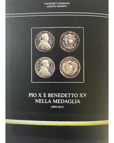 Catalogo Modesti pio X e Benedetto XV nella medaglia 1903/1922