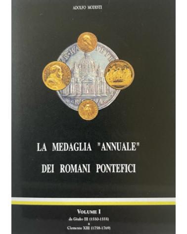 Catalogo Modesti medaglia annuale dei romani pontefici vol. 1