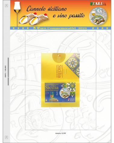 Page 5€ Italy 2021 Cannolo siciliano