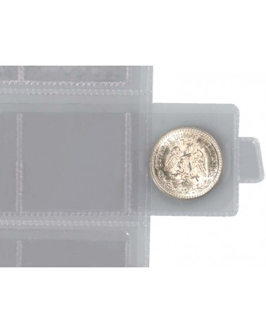 Tornese - Tasca a 12 cursori, confezione da 6 fogli