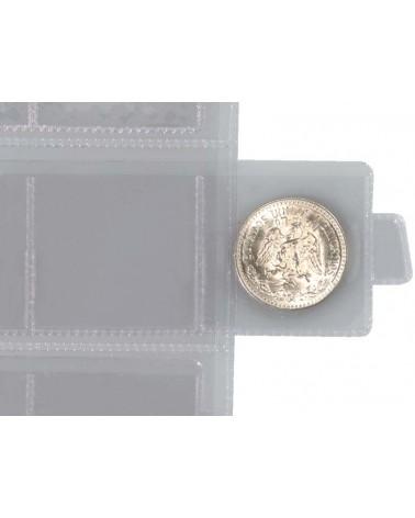 Tornese - Tasca a 48 cursori, confezione da 6 fogli