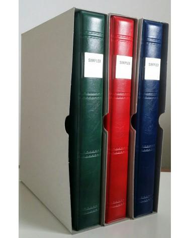 Raccoglitore Simplex completo con custodia cartoncino