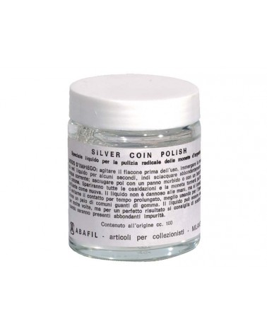 Silver Coin Polish - flacone in vetro da 100ml