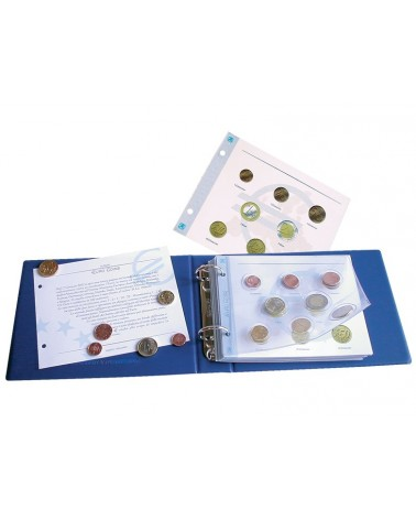 Euro Coins - Foglio generico + tasca