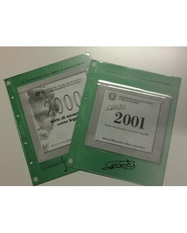 Lira - fogli e tasche divisionali 2000/2001