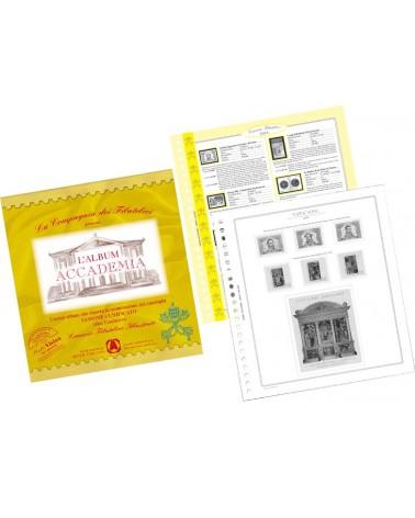 """""""Accademia"""" Vaticano 2010 - Foglio per Cd Chopin e Schumann"""