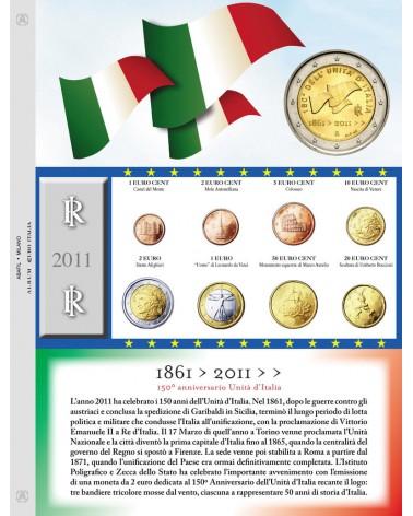 Euro Italia - Monete sciolte 2011