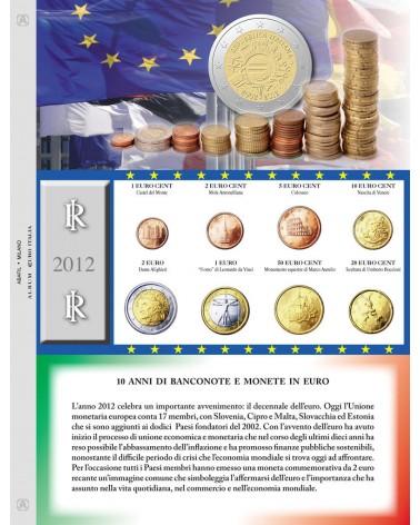 Euro Italia - Monete sciolte 2012