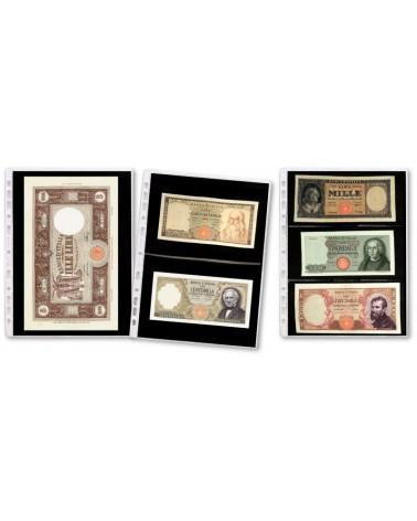 Tasche Paper Money a 2 settori orizzontali