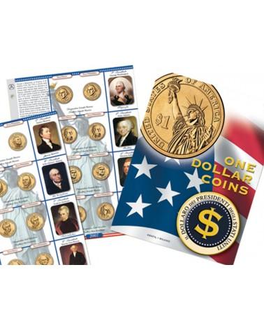 One Dollar Coins - foglio di aggiornamento 2008