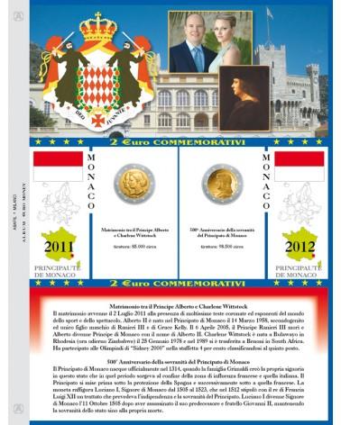 Principato di Monaco 2 € 2011/2012