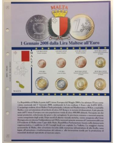 Foglio EuroMoney Malta 2008