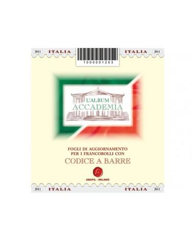 Album Codice a barre - Italia 2012 - Complementare