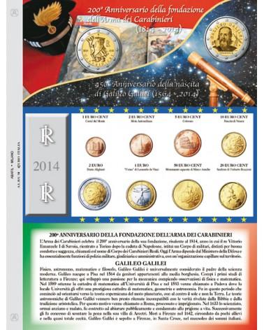 Euro Italia - Monete sciolte 2014