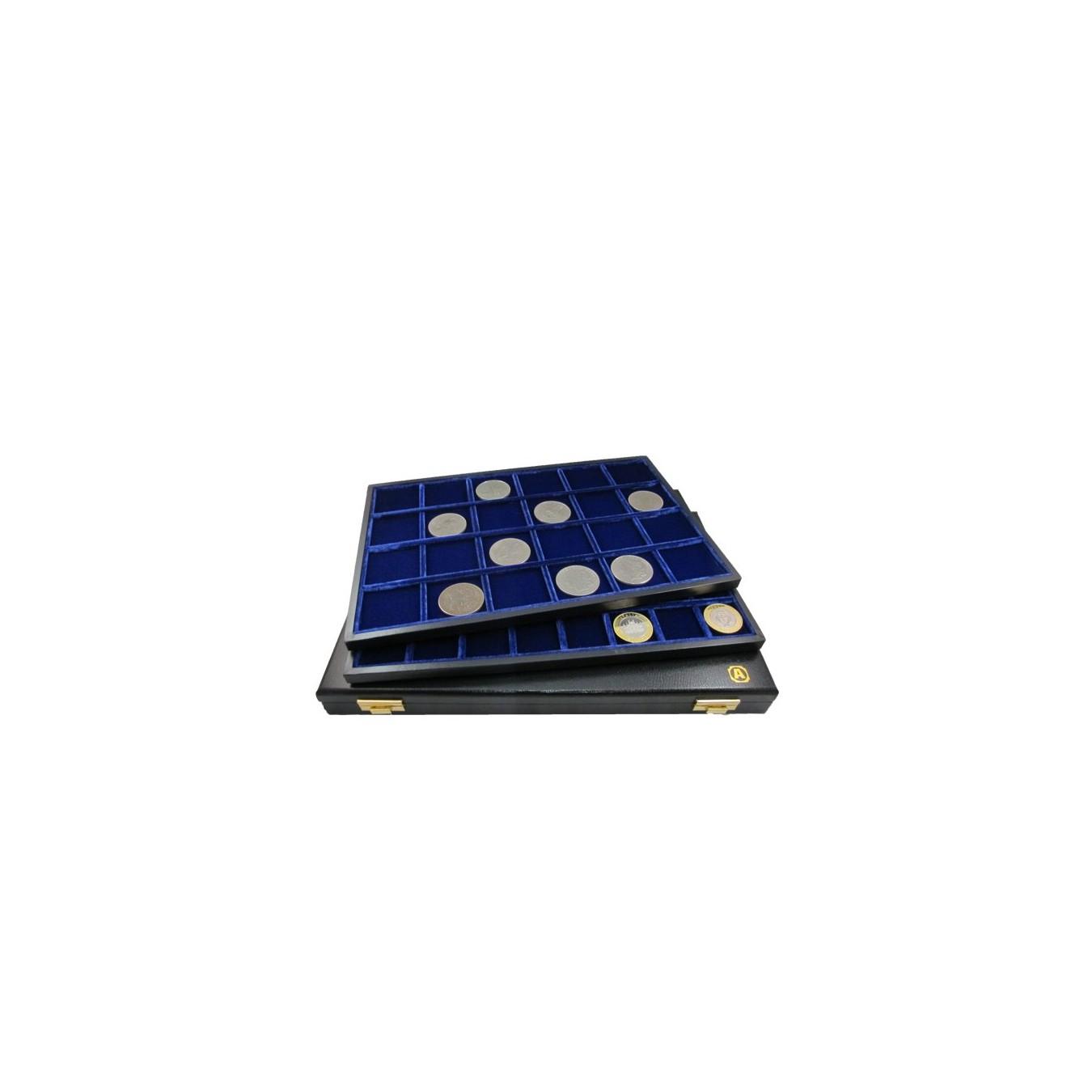 Minidiplomat - Modello velluto blu