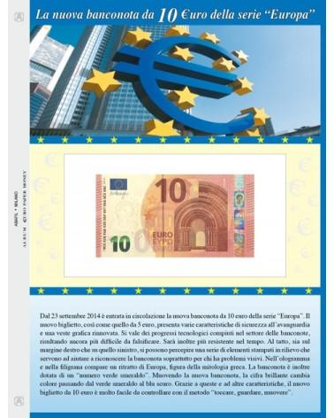 Foglio per banconota 10 Euro