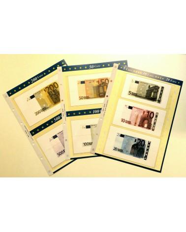 Blocco per banconote 5-10-20- 50-100-200-500 Euro