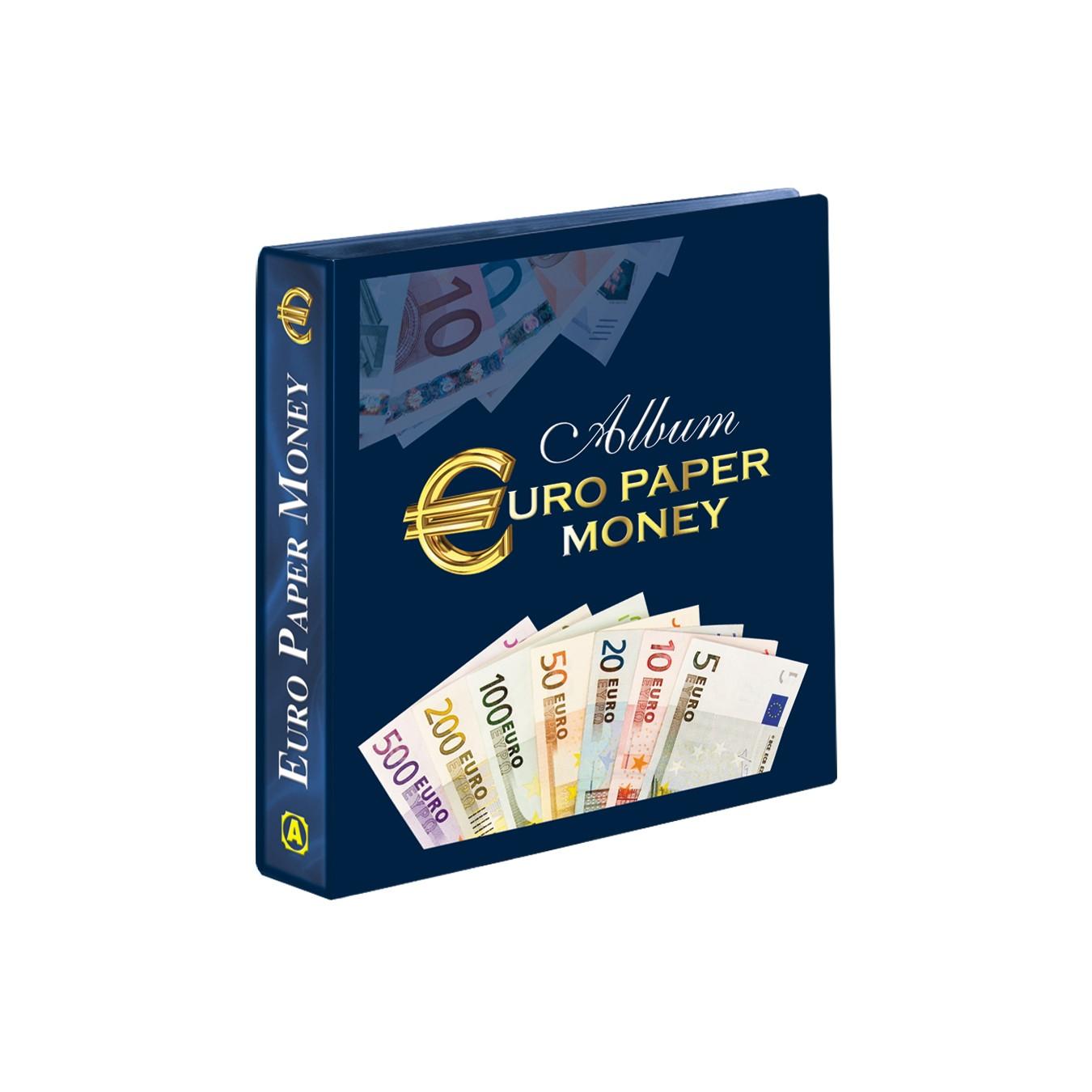 ALBUM EURO PAPER MONEY COMPLETO