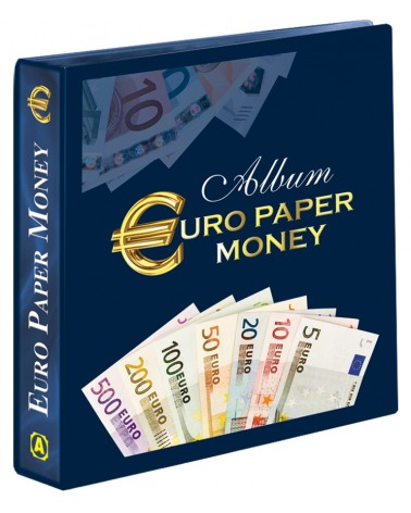 Cartella con custodia Euro Paper Money vuota