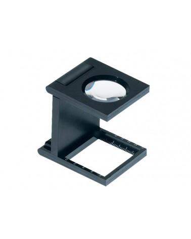 L/30 - Lente contafili in plastica nera