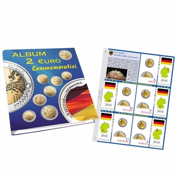 2€ COMMEMORATIVE 5 ZECCHE GERMANIA