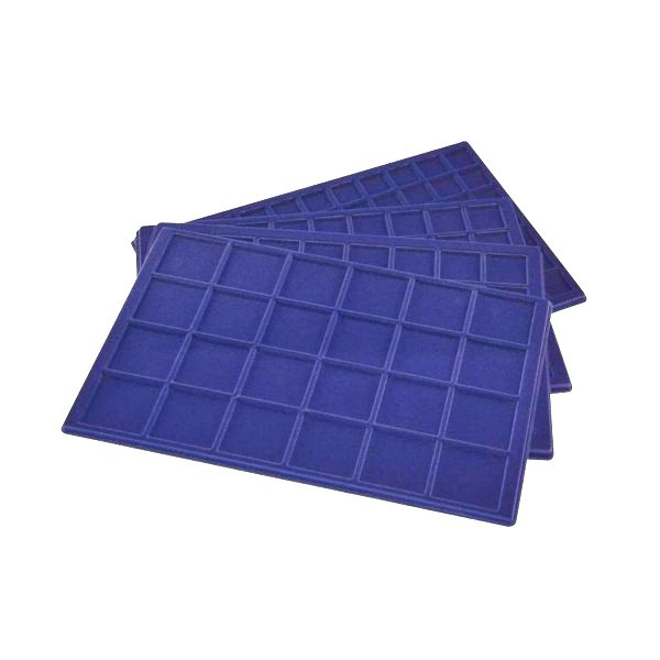 Blue standard felt trays