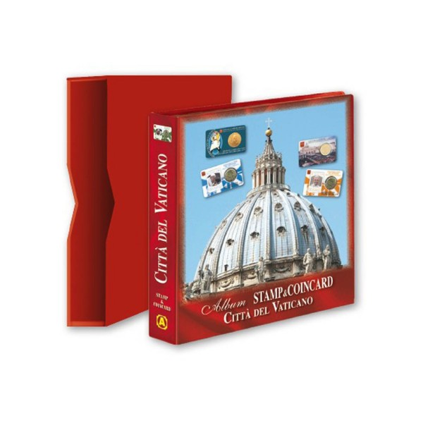 ALBUM COIN CARD VATICAN CITY