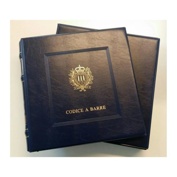 Album San Marino Codice a Barre