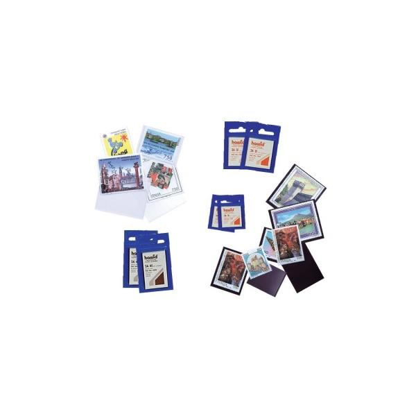 Stamp size pockets