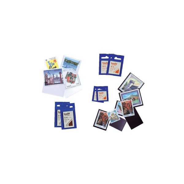 Taschine formato francobolli